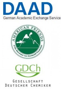 combined logos of DAAD, American Friends and GDCh